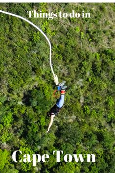 Looking for something to do on your road trip in Cape Town, South Africa? Try Bungee Jumping off of the world's tallest bungee bridge.