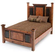 Rustic Bedroom Furniture, Log Bed, Mission Beds, Burl Wood Furnishings, Log Cabin Bedroom Furniture