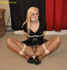 Hotties in bondage socks