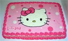 Hello Kitty Cake Ideas - or this.