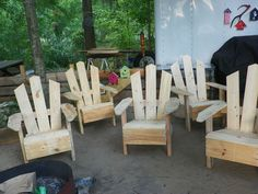 Still Working on Pallet Chairs.