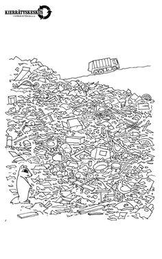 Kierrätyskeskuksen luontokerhovinkkejä