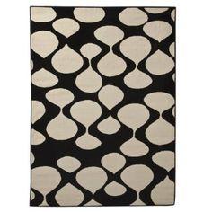 Black/White rug