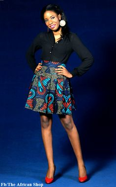 On Sales Tumble Boom Skirt Was 30 pounds now 20 by THEAFRICANSHOP