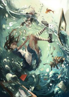 Eu ainda não entendo como que nessa parte ela não morreu afogada '-'