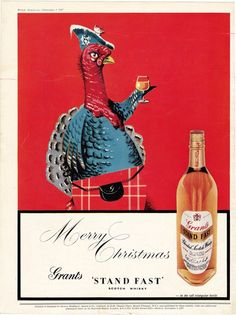 Vintage ad Scotch Whisky Grant's Stand Fast by ArcaniumAntiques, $15.00