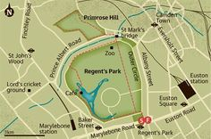 'A classic, 10,000-step stroll for London's grass-starved urbanites... A classic London walk ideal for grass-starved urbanites. Stride around Regent's Park, past London Zoo before heading up Primrose Hill for spectacular views of the city.' ― via The Guardian.