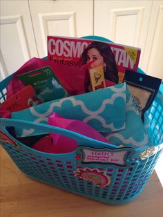 Hospital Survival Kit for moms to be. everyone brings one item for the survival kit