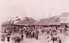 Monastir (Bitola) Macedonia Bazaar 1901