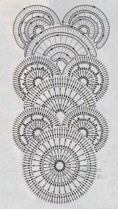 Crochet Lace Edging, Crochet Diy, Crochet Borders, Crochet Diagram, Crochet Stitches Patterns, Freeform Crochet, Crochet Chart, Crochet Squares, Filet Crochet