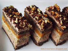 Polish Desserts, Polish Recipes, No Bake Desserts, Cream Cheese Flan, Condensed Milk Cake, Different Cakes, Pumpkin Cheesecake, Food Cakes, Cake Cookies