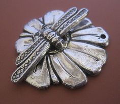 Pollination Toggle Clasp by MamacitaBeadworks on Etsy, $19.99