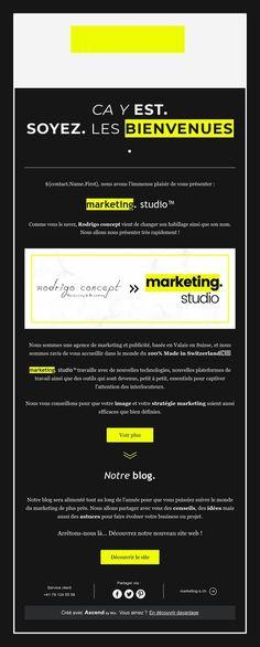 Ca y est ! Soyez les bienvenues Marketing, Studio, Welcome, Study, Studios, Studying