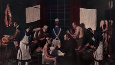 True shock value is rare these days, but these gruesome yet skilled paintings of Hiroshima victims and macabre medical experiments will give you the shudders Art Fair, Contemporary Paintings, Macabre, Game Art, It Works, Medical, Concert, Gallery, Art