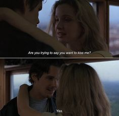 Before Sunrise (1995) Before Sunrise Quotes, Before Sunrise Trilogy, Before Trilogy, Movie Love Quotes, Favorite Movie Quotes, Cinema Quotes, Film Quotes, Series Movies, Movies And Tv Shows