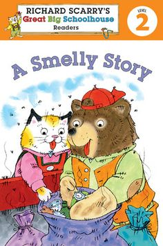 Richard Scarry's Readers (Level 2): A Smelly Story