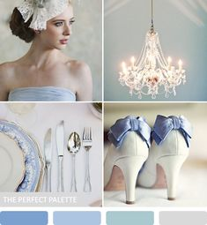 Party Palette | Shades of Blue + Silver http://www.theperfectpalette.com/2013/07/party-palette-shades-of-blue-silver.html