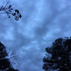 Morning clouds @ 6:65 am, 11/25