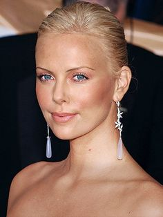 Earrings | Charlize Theron