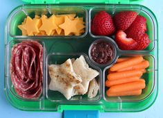 Lots of Kid Lunch ideas thru pictures - in Bento box style