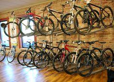 Choosing the Right Mountain Biking Shoes Mountain Biking Women, Mountain Bike Shoes, Bicycle Shop, Bike Store, Cool Bicycles, Cool Bikes, Cycle Storage, Bike Room, Bike Reviews