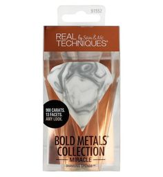 Real Techniques Bold Metals Diamond Sponge