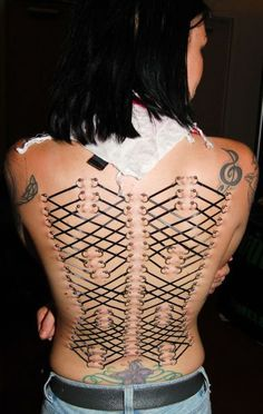 Extreme female body modification