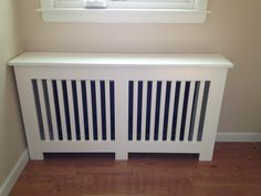 Custom radiator cover.