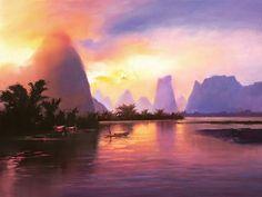 Painting by Hong Leung.