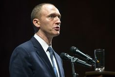 FBI obtained FISA warrant to monitor former Trump adviser  Carter Page - Despite early denials, growing list of Trump camp contacts with Russians haunts White House BIGLY!