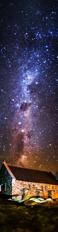 "The Milky Way in Tekapo - from the Exhibition: ""Cropped for Pinterest"" - photo from Treyratcliff"