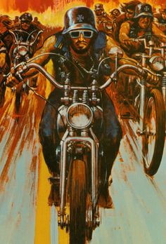 The Wild Angels (artwork from the movie soundtrack LP)
