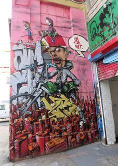 5Pointz Mural by Zeso