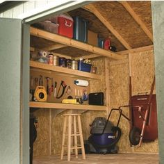 Shop Heartland Statesman Gable Engineered Wood Storage ...