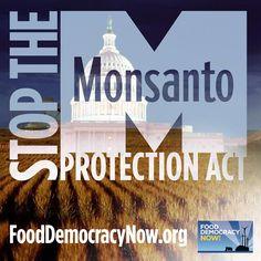 Stop Monsanto - Food Democracy Now #monsanto,#fooddemocracynow