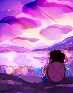 jen-iii: 'Is there anything that's worth more…'[Watch the speedpaint here! Greg Universe, Universe Love, Steven Universe Comic, Universe Art, Underwater Drawing, Steven Universe Wallpaper, Holly Blue, Peace And Love, Disney