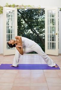 Yoga at Home: Guide to Starting a Home Yoga Practice | Gaiam Life.  I'm beginning to realize that I don't have to be in a studio to practice. This is a nice guide to help you get ready.