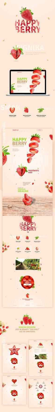 "Confira este projeto do @Behance: ""Strawberry Farm website concept"" https://www.behance.net/gallery/35392021/Strawberry-Farm-website-concept"