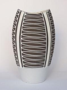 Keramikvase 60er Jahre Schlossberg