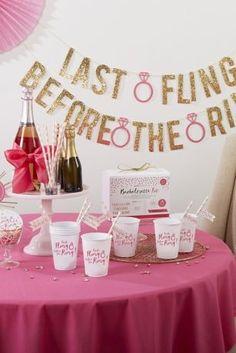 Last Fling Before The Ring Bachelorette Party Kit Davids Bridal Supplies Photo