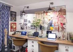 Tips for Effectively Working from Home: defining your workspace @ creativemarket