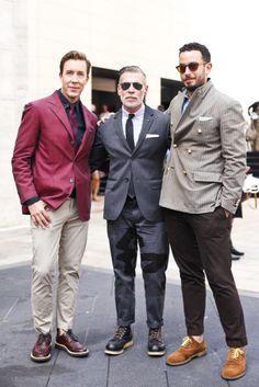 I love Nick Wooster's pants.