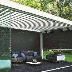 Interno Veranda Completa Con Vetrate Scorrevoli | Verande ... Bioklimatische Terrassenuberdachungen Biossun