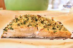 Panko Crusted Salmon. DeuxMaisons.com