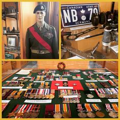 Today is #VEday so we thought it would be an appropriate time to visit the #GreySimcoeForestersRegimentalMuseum and learn about how soldiers in the #Barrie area contributed to #war efforts and #Canadian #freedom #WWII #history #vintage #70thAnniversary #WorldWarII #thankyouvetrans