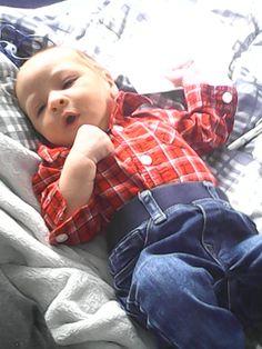 My beautiful boy 3 weeks old
