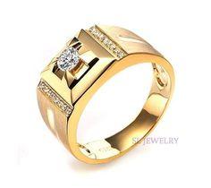 gold diamond rings - Google Search