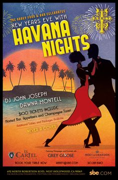 #NYE New Year's Eve 2013 Havana Nights at #The #Abbey Food and Bar West Hollywood, 12/31/12 @9pm @sbenightlife http://celebhotspots.com/hotspot/?hotspotid=9915=1