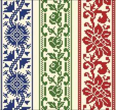Cross Stitch Numbers, Cross Stitch Borders, Counted Cross Stitch Patterns, Cross Stitch Charts, Cross Stitch Designs, Cross Stitching, Cross Stitch Embroidery, Embroidery Patterns, Knitting Charts