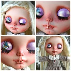 SALE Adorable Fully Custom Blythe Doll by TicketyBooCreations